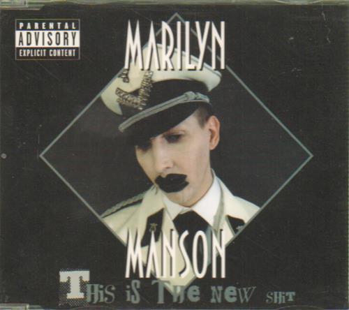 "Marilyn Manson This Is The New Shit CD single (CD5 / 5"") UK MYMC5TH254490"