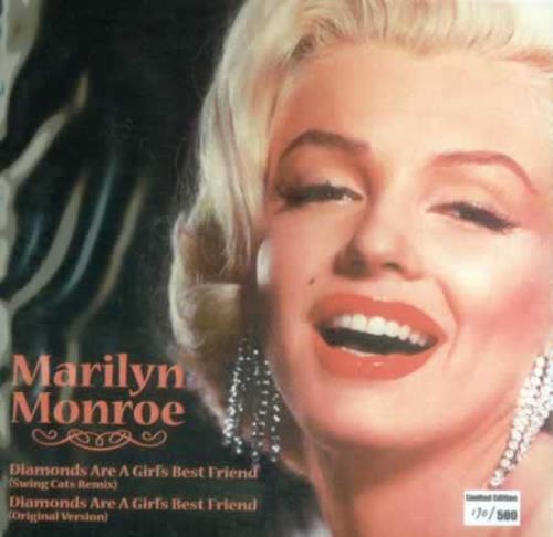 "Marilyn Monroe Diamonds Are A Girl's Best Friend 7"" vinyl single (7 inch record) US MLN07DI420626"