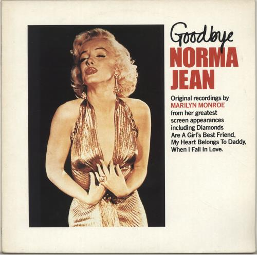 Marilyn Monroe Goodbye Norma Jean vinyl LP album (LP record) UK MLNLPGO698091