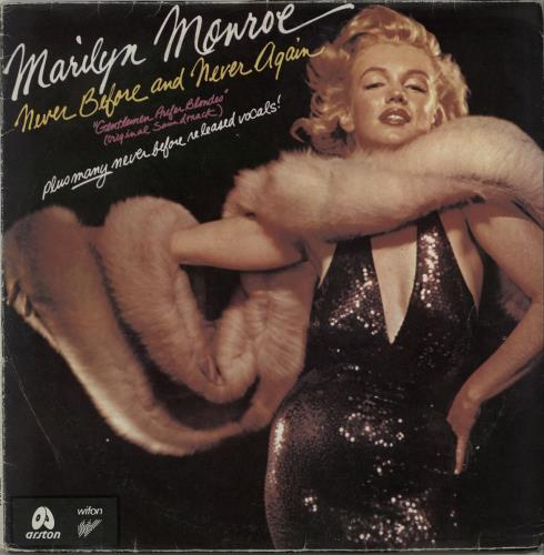 Marilyn Monroe Never Before And Never Again / A Rare Side Of vinyl LP album (LP record) Polish MLNLPNE597771