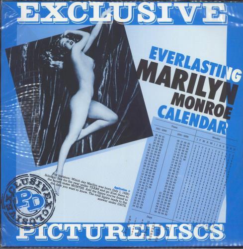 Marilyn Monroe Runnin' Wild picture disc LP (vinyl picture disc album) Danish MLNPDRU530041