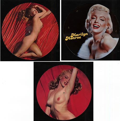 Marilyn Monroe Runnin' Wild/The Legend Lives On/Marilyn Monroe picture disc LP (vinyl picture disc album) Danish MLNPDRU331015