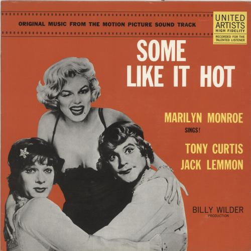 Marilyn Monroe Some Like It Hot US vinyl LP album (LP record) (698913)
