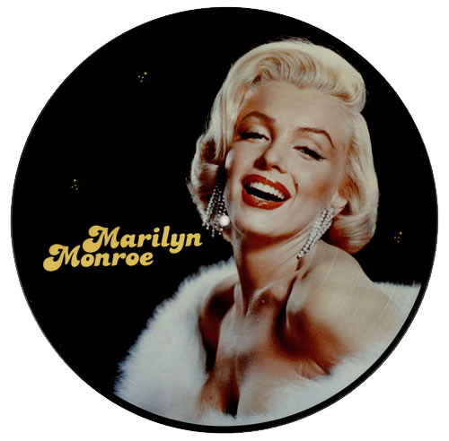 Marilyn Monroe The Legend Lives On picture disc LP (vinyl picture disc album) Dutch MLNPDTH471443