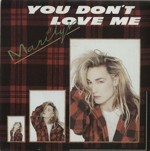 "Marilyn You Don't Love Me - Injection 7"" vinyl single (7 inch record) UK MLY07YO581922"