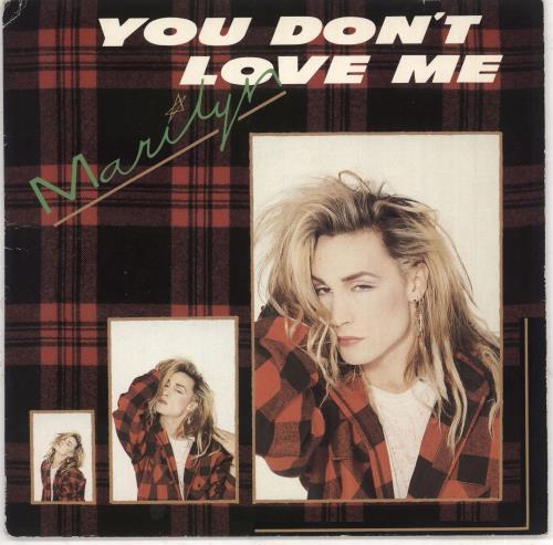 "Marilyn You Don't Love Me - Solid 7"" vinyl single (7 inch record) UK MLY07YO733804"