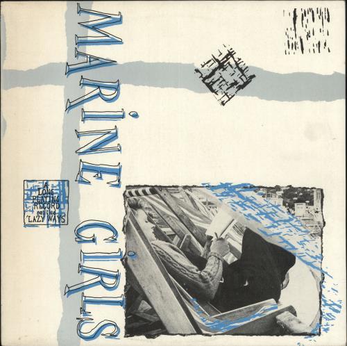 Marine Girls Lazy Ways vinyl LP album (LP record) UK EGLLPLA106148