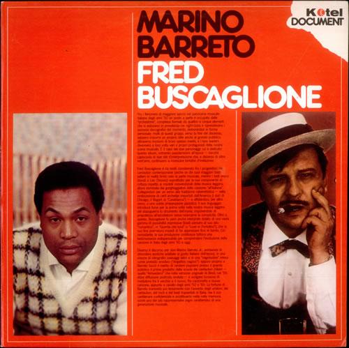 Marino Barreto Marino Barreto / Fred Buscaglione vinyl LP album (LP record) Italian M6RLPMA517741