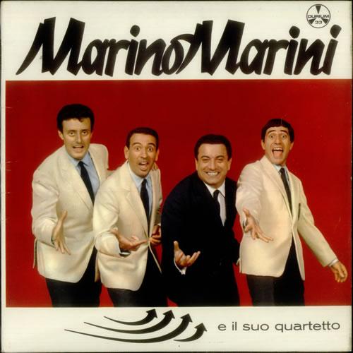 Marino Marini E Il Suo Quartetto vinyl LP album (LP record) UK MQ0LPEI549707