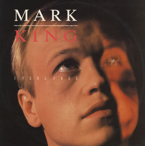 "Mark King I Feel Free 12"" vinyl single (12 inch record / Maxi-single) UK MKI12IF21683"