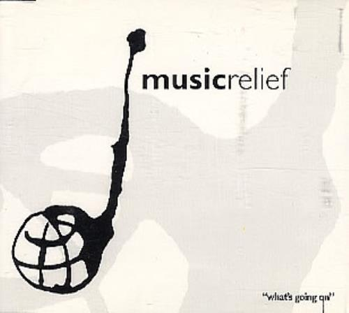 """Mark King Music Relief 94 """"What's Going On"""" CD single (CD5 / 5"""") UK MKIC5MU164046"""