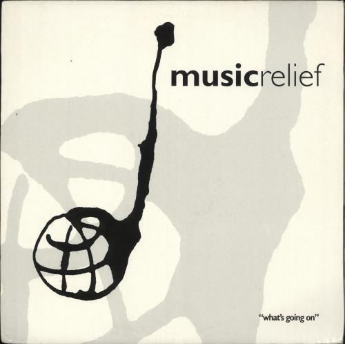 "Mark King Music Relief '94 ""What's Going On"" 12"" vinyl single (12 inch record / Maxi-single) UK MKI12MU240054"