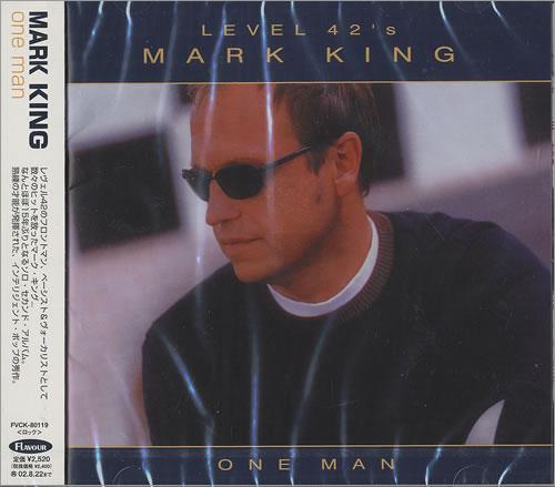Mark King One Man CD album (CDLP) Japanese MKICDON439590