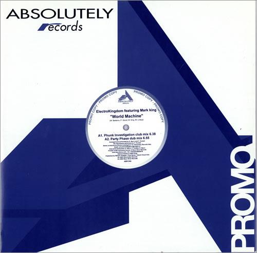 "Mark King World Machine 12"" vinyl single (12 inch record / Maxi-single) Italian MKI12WO462934"