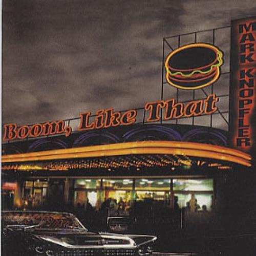 "Mark Knopfler Boom, Like That CD single (CD5 / 5"") Spanish KNOC5BO307055"