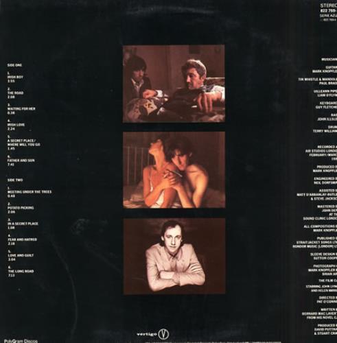 Mark Knopfler Cal vinyl LP album (LP record) Brazilian KNOLPCA236102