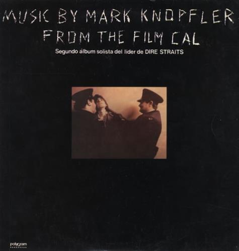 Mark Knopfler Cal vinyl LP album (LP record) Argentinean KNOLPCA236104