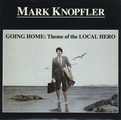 """Mark Knopfler Going Home 7"""" vinyl single (7 inch record) Canadian KNO07GO430339"""