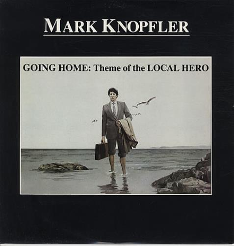 "Mark Knopfler Going Home 12"" vinyl single (12 inch record / Maxi-single) UK KNO12GO79425"