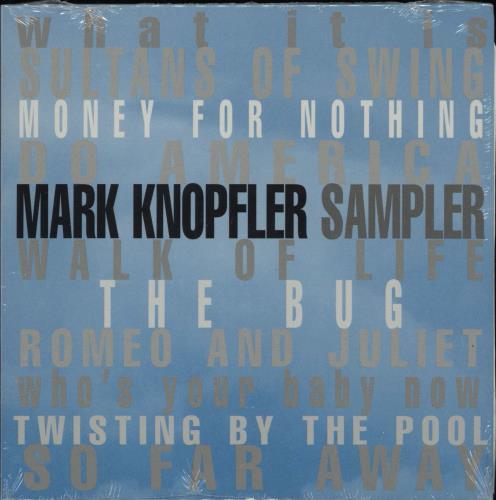 Mark Knopfler Sampler CD album (CDLP) US KNOCDSA165341