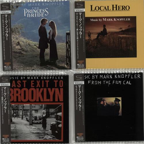 Mark Knopfler Soundtrack Albums SHM CD Japanese KNOHMSO639804