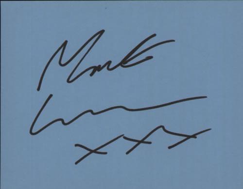 Mark Lamarr Page From An Autograph Book memorabilia UK NZ7MMPA603895