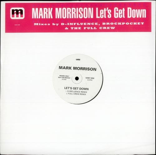 "Mark Morrison Let's Get Down 12"" vinyl single (12 inch record / Maxi-single) UK MMS12LE499529"