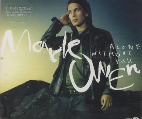 "Mark Owen Alone Without You CD single (CD5 / 5"") UK MKWC5AL457263"