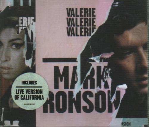 """Mark Ronson Valerie CD single (CD5 / 5"""") UK RM-C5VA416100"""