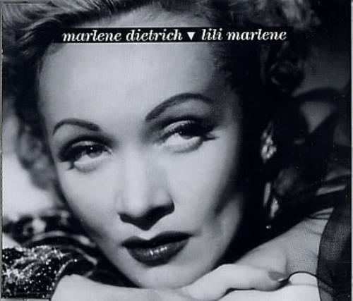 Marlene Dietrich Lili Marlene German Cd Single Cd5 5