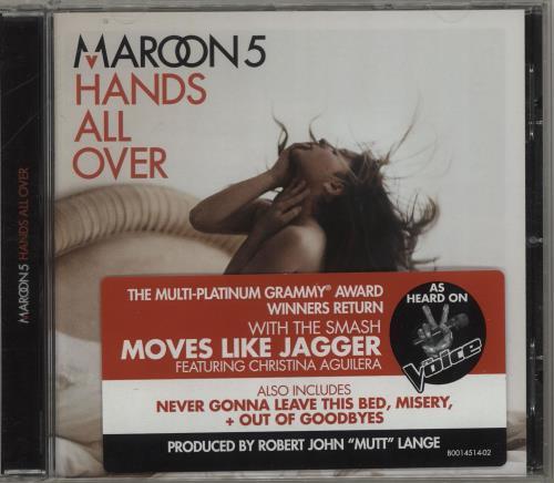 Maroon 5 Hands All Over - 2011...