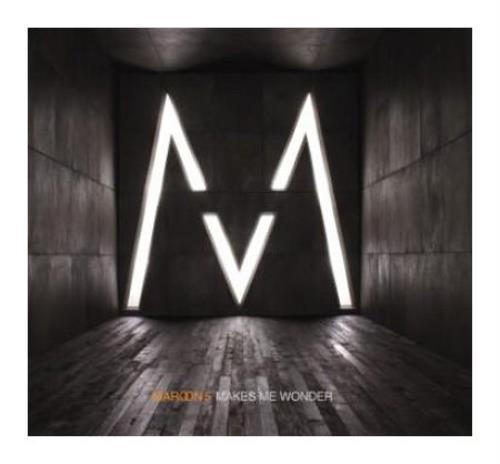"""Maroon 5 Makes Me Wonder CD single (CD5 / 5"""") UK MR5C5MA399807"""