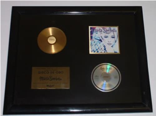 Marta Sanchez Mujer award disc Mexican MSZAWMU248354