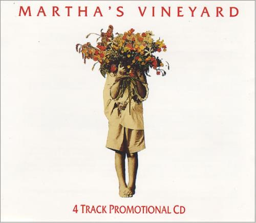 "Martha's Vineyard 4 Track Promotional CD CD single (CD5 / 5"") UK MTVC5OL100324"