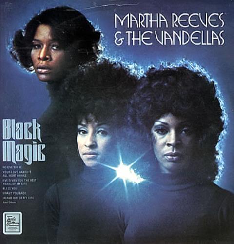 Martha Reeves & The Vandellas Black Magic UK vinyl LP album (LP