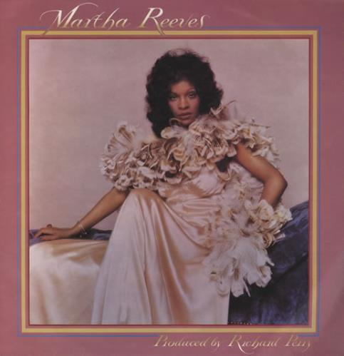 Martha Reeves & The Vandellas Martha Reeves vinyl LP album (LP record) UK RVELPMA245479