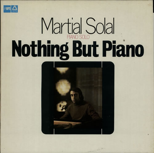 Martial Solal Nothing But Piano vinyl LP album (LP record) Dutch MS4LPNO627270