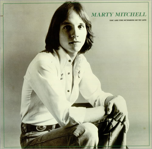 Marty Mitchell You Are The Sunshine Of My Life vinyl LP album (LP record) US M4MLPYO455588