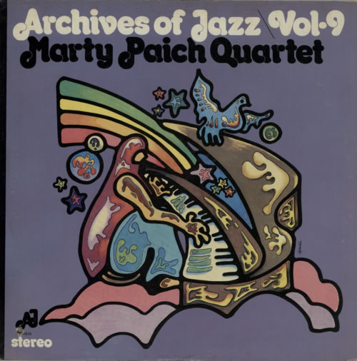 Marty Paich Archives Of Jazz \ Vol. 9 vinyl LP album (LP record) US MYPLPAR587779