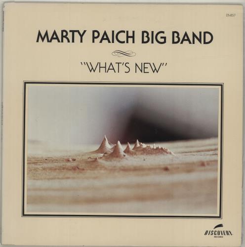 Marty Paich What's New vinyl LP album (LP record) US MYPLPWH687860