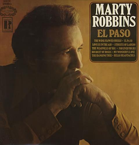 Marty Robbins El Paso vinyl LP album (LP record) UK M/RLPEL306182
