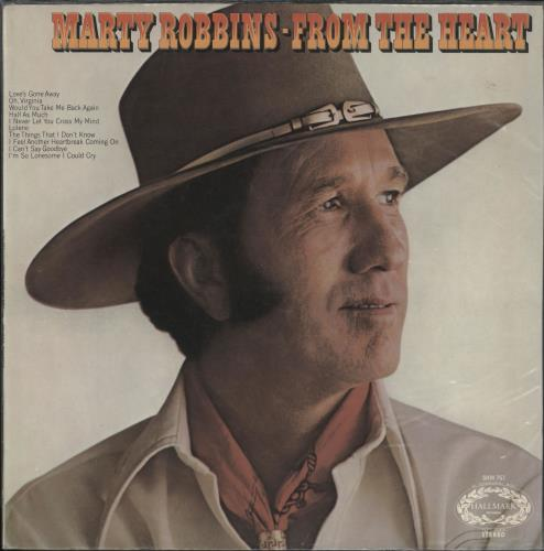 Marty Robbins From The Heart vinyl LP album (LP record) UK M/RLPFR303751