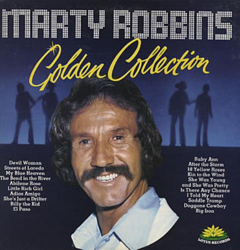 Marty Robbins Golden Collection vinyl LP album (LP record) UK M/RLPGO314096