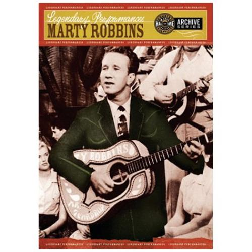 Marty Robbins Legendary Performances DVD UK M/RDDLE443813