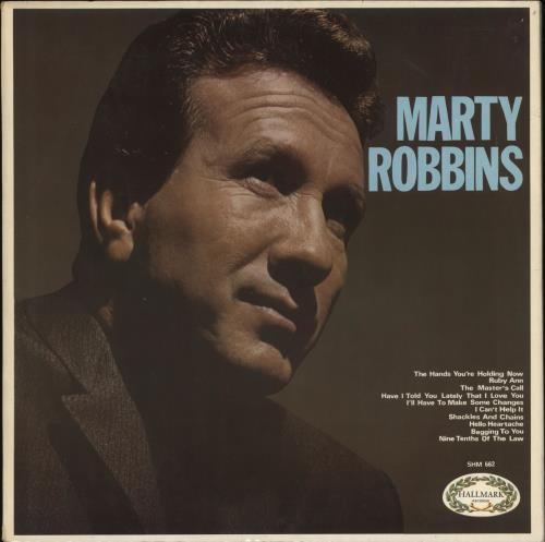 Marty Robbins Marty Robbins vinyl LP album (LP record) UK M/RLPMA304738