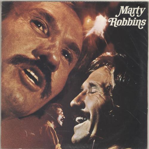 Marty Robbins Marty Robbins vinyl LP album (LP record) UK M/RLPMA461334