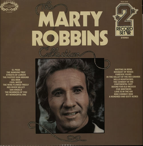 Marty Robbins The Collection 2-LP vinyl record set (Double Album) UK M/R2LTH570975