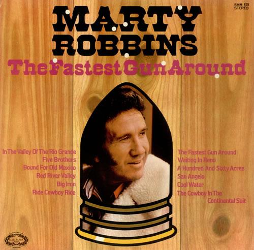 Marty Robbins The Fastest Gun Around vinyl LP album (LP record) UK M/RLPTH437757