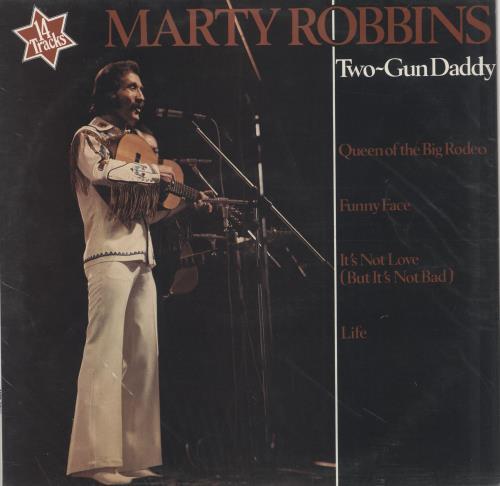 Marty Robbins Two-Gun Daddy vinyl LP album (LP record) UK M/RLPTW303732
