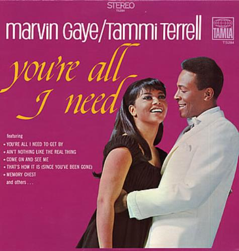 Marvin Gaye & Tammi Terrell You're All I Need vinyl LP album (LP record) US M92LPYO313519